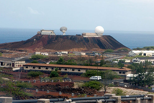 Ascension Island - GPS monitoring site